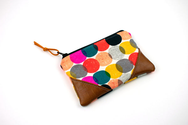 Coin Purse - Colorful Circles