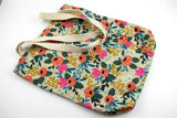 Tote - Natural Floral Canvas