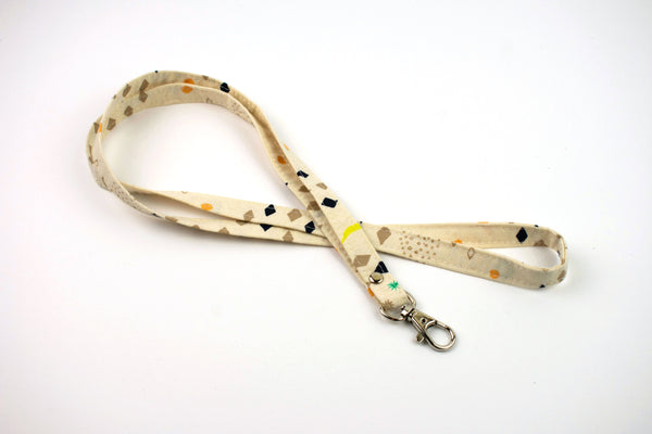 Lanyard ID Holder - Organic Shapes