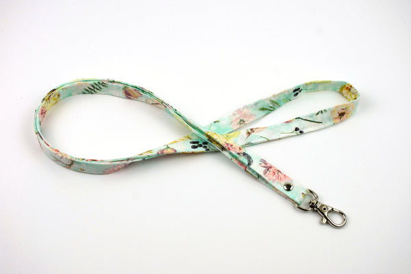 Lanyard ID Holder - Boho Feather