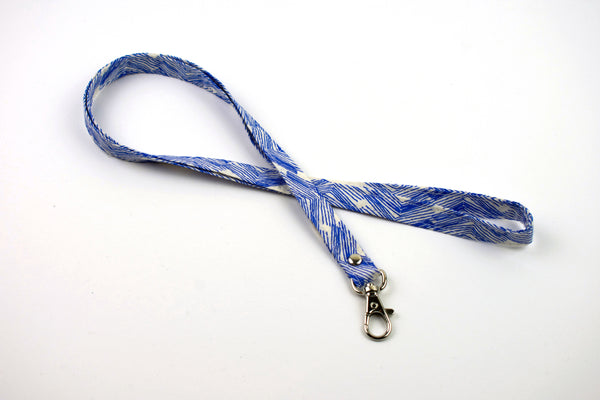 Lanyard ID Holder - Cobalt Etch