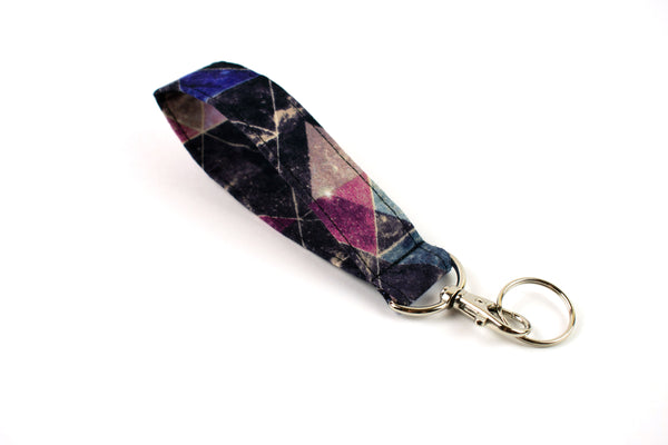 Swivel Key Fob - Galaxy Triangle