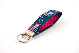 Key Fob - Navy Fox
