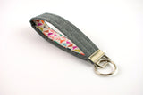 Key Fob - Colorful Triangle