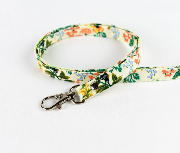 Lanyard ID Holder - Natural Herb