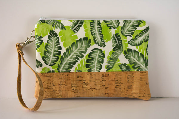 Convertible Wallet - Banana Leaf