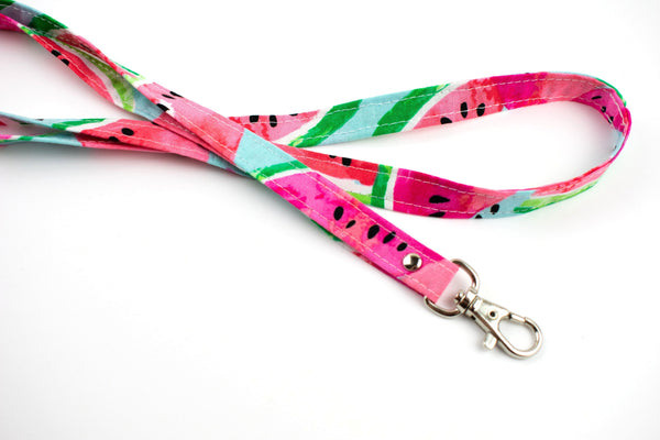 Lanyard ID Holder - Watermelon