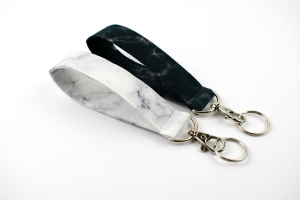Swivel Key Fob - Marble