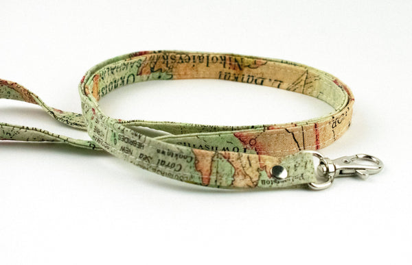 Map Lanyard ID Holder