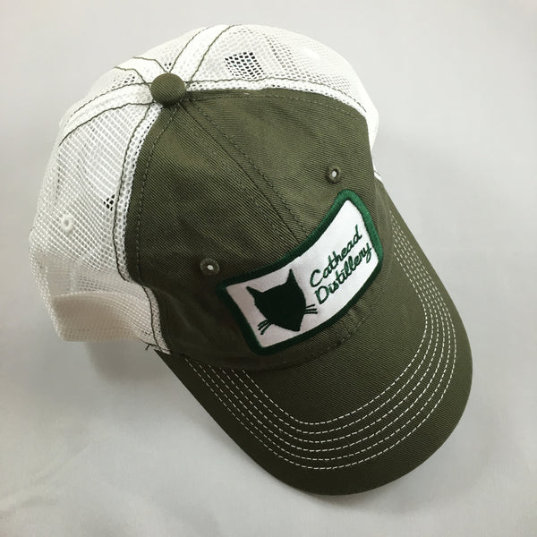 Brown & Green Trucker Hat