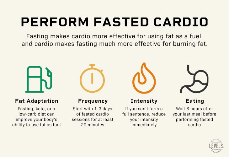 How to perform fasted cardio