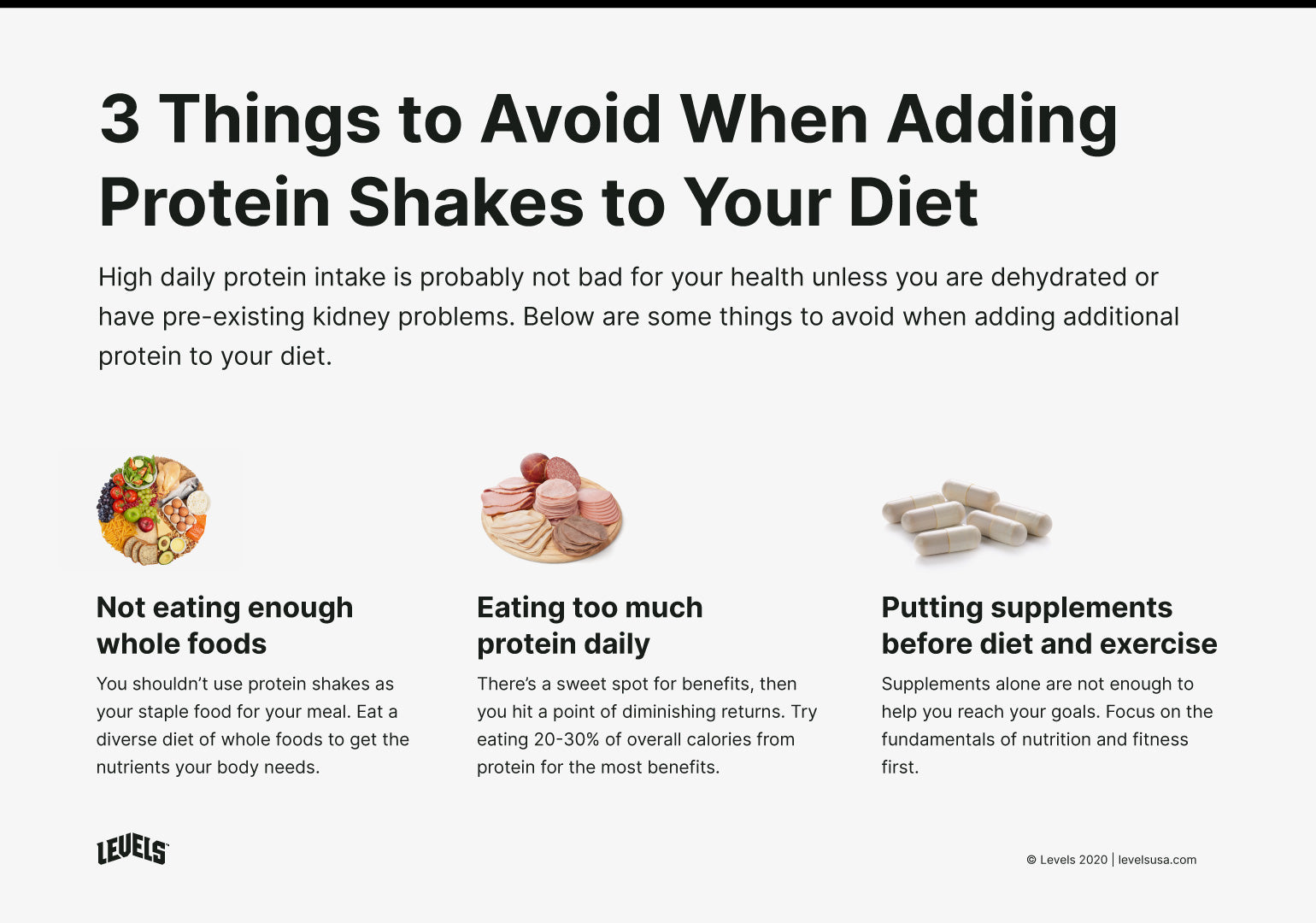 Mistakes To Avoid When Adding Protein Shakes to Your Diet - Infographic