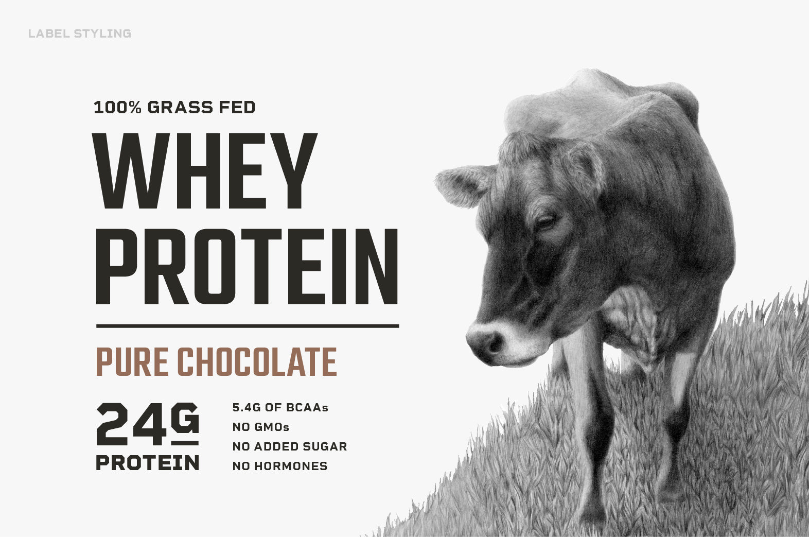 Levels new grass-fed whey protein labels