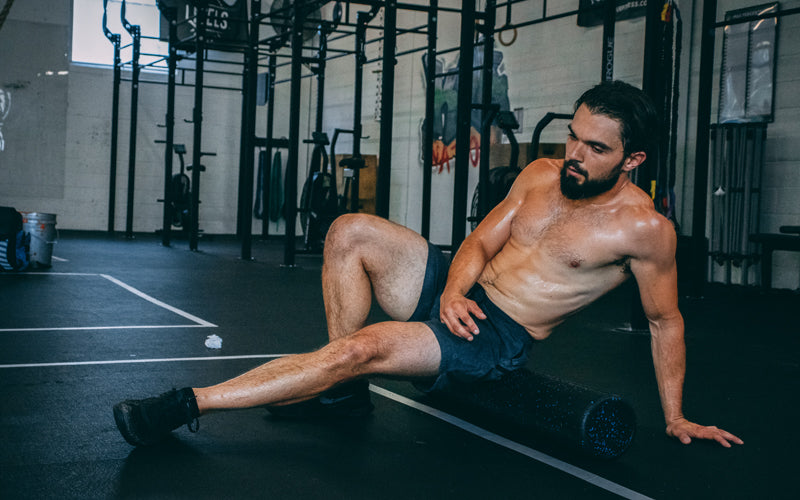 Levels athlete foam rolling rcovery
