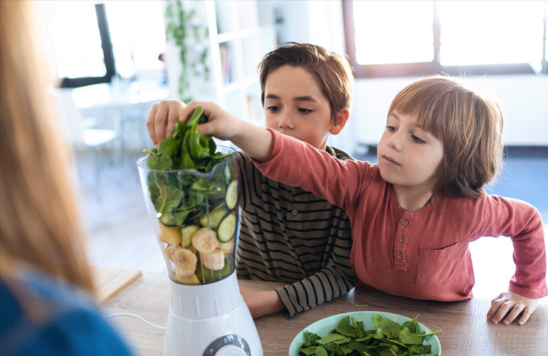 Well-Rounded Diet for Kids