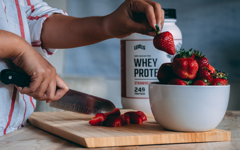 whey protein recovery shake