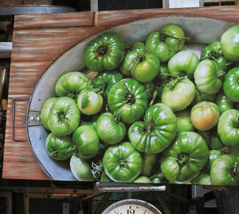 Green Tomato Painting