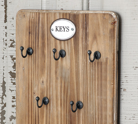 Wooden Key Hang