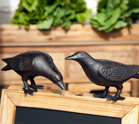 Cast Iron Crows