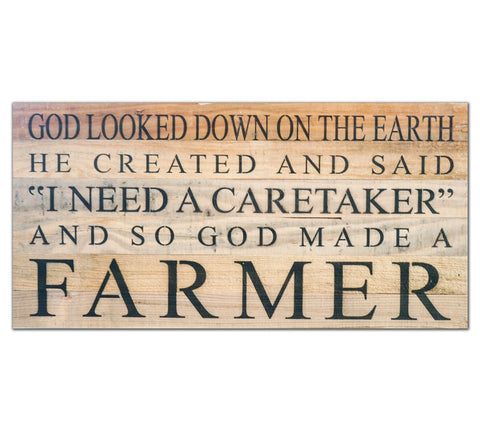 God Created Farmer