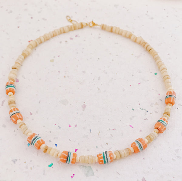 Ethnic beads Necklace