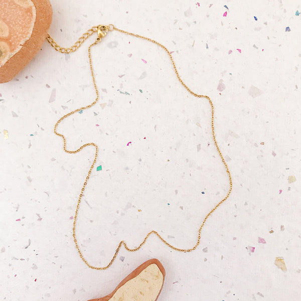 Golden Basic Necklace