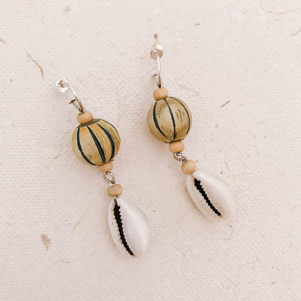 Salt water Earrings