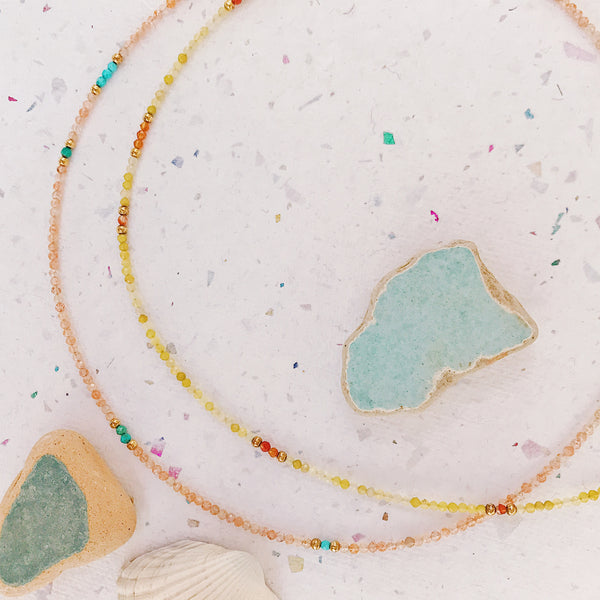 San Sebastian Yellow opal Necklace