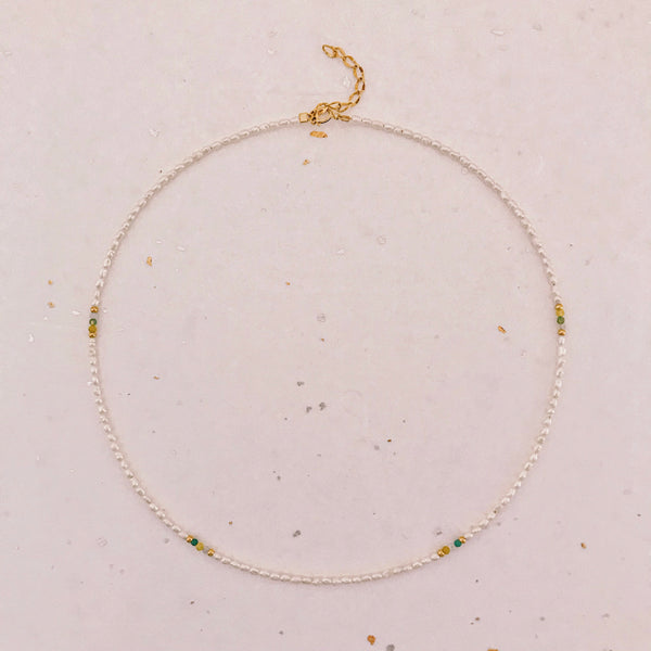 Ak Ana Necklace (gold filled)