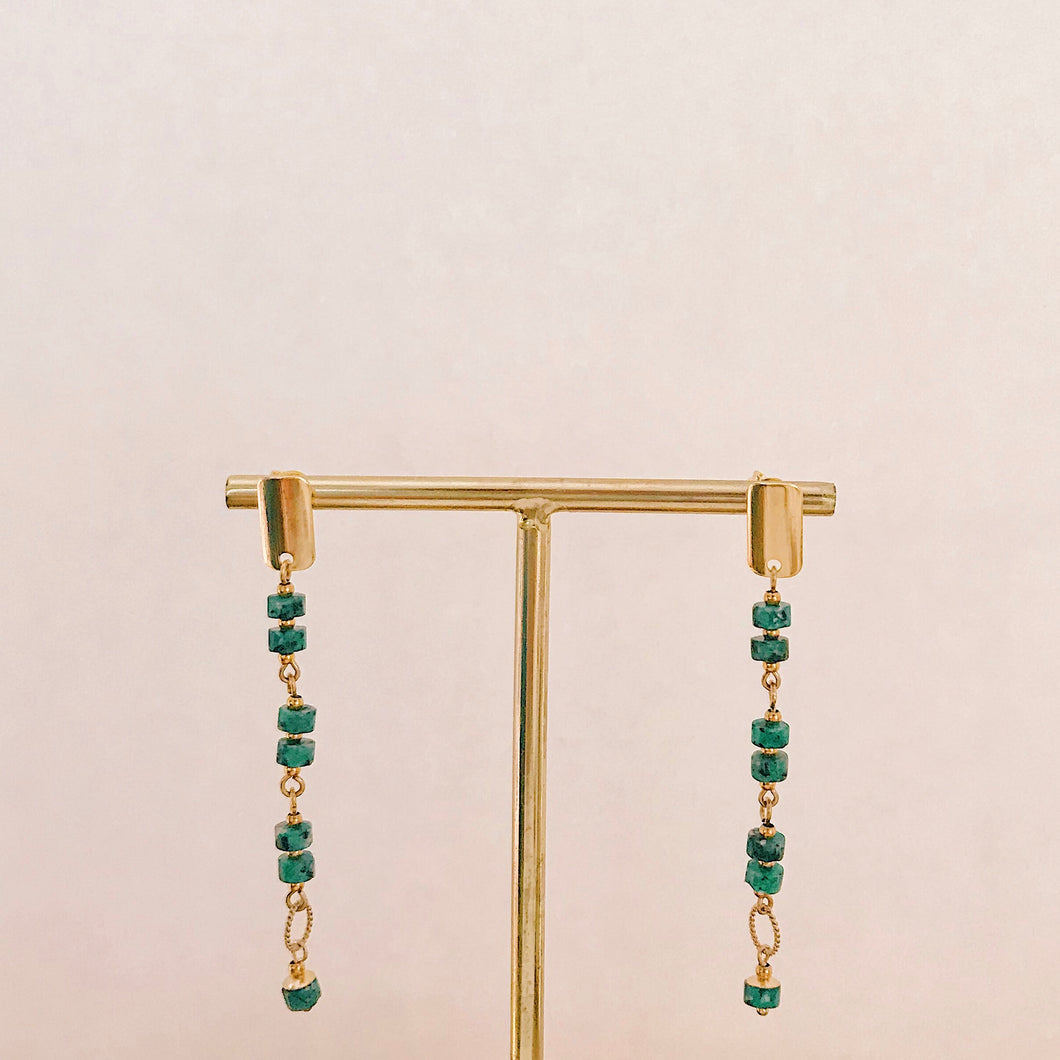 Su Ana earrings (gold filled)