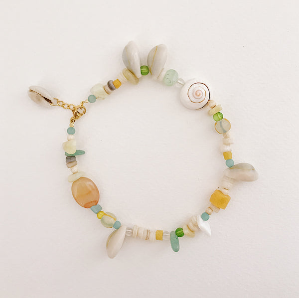 Beach cocktail Anklet Pastel