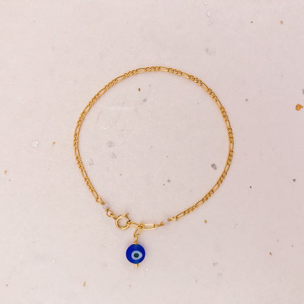 Nazar Bracelet (gold filled)