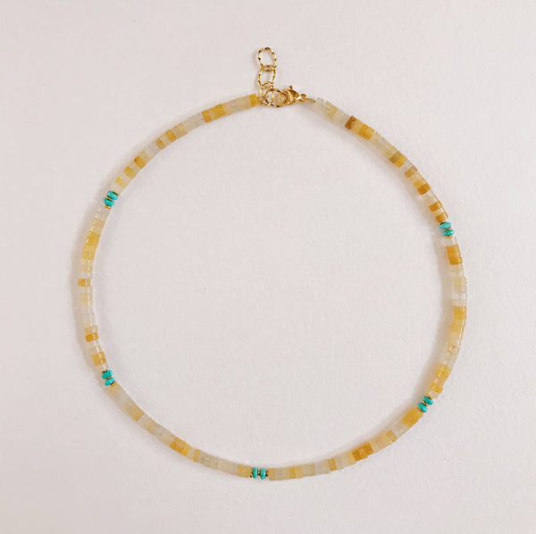 Sol Necklace yellow