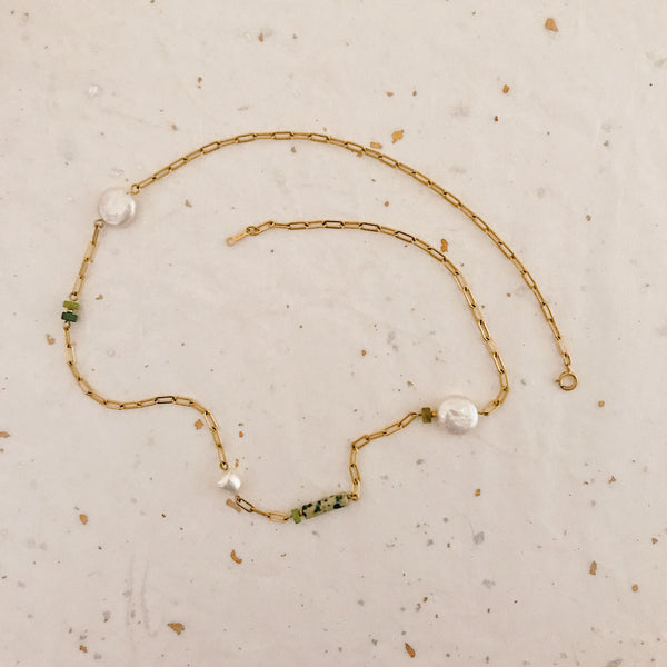 Riva Necklace (gold filled)