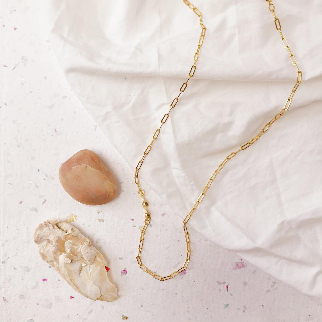 Wave Dancer Necklace (gold filled)