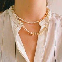 Load image into Gallery viewer, Sunrise pearl Necklace