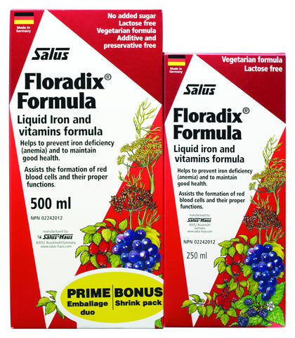 Floradix® Formula - Bonus Pack 500ml+250ml - Salus® - Health & Body Nutrition