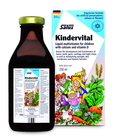 Floradix Kindervital Liquid Multivitamin For Children - 250ml - Salus - Health & Body Nutrition