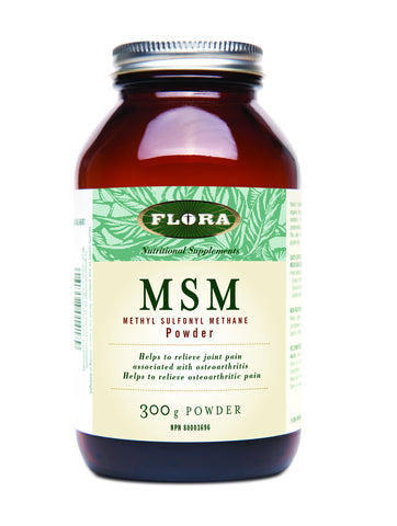 MSM Powder - 300g - Flora - Health & Body Nutrition