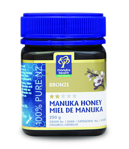 Bronze Manuka Honey - 250g - Manuka Health - Health & Body Nutrition