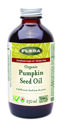 Pumpkin Seed Oil - 250ml - Flora - Health & Body Nutrition