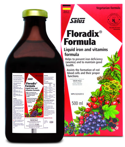 Floradix® Formula - 500ml - Salus® - Health & Body Nutrition