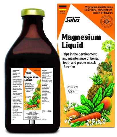 Magnesium Liquid - 500ml - Salus® - Health & Body Nutrition