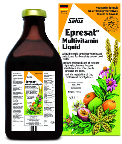 Epresat® Multivitamin Liquid - 500ml - Salus® - Health & Body Nutrition
