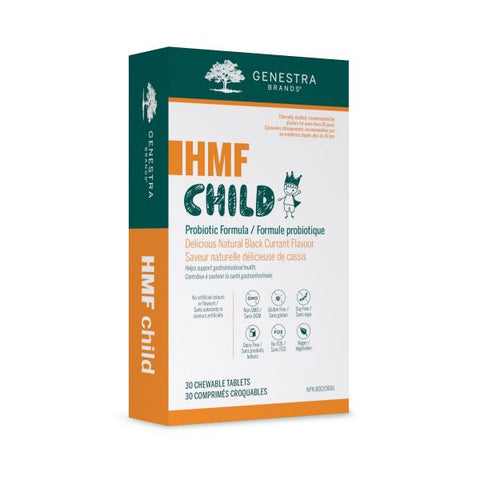 HMF Child Probiotic Formula - 30chewables - Genestra - Health & Body Nutrition
