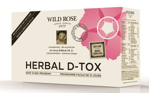 Wild Rose Herbal D-Tox - 12 Day Program - Health & Body Nutrition