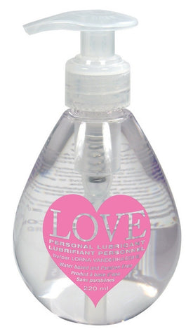 LOVETM Personal Lubricant - 220ml - Lorna Vanderhaeghe - Health & Body Nutrition