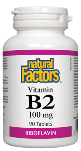 Vitamin B2 100 mg-Natural Factors