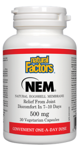 NEM® 500 mg · Natural Eggshell Membrane-Natural factors