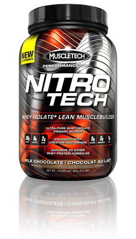 Nitro-tech 2LB - Muscletech - Health & Body Nutrition